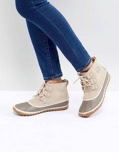 Бежевые непромокаемые ботинки Sorel Out N About - Бежевый