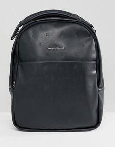 Черный рюкзак из искусственной кожи Armani Exchange - Черный