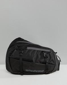 Черная сумка через плечо объемом 8 л Patagonia Atom - Черный