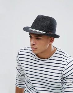 Летняя шляпа-трилби Barts Quest - Черный