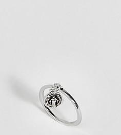 Серебряное кольцо в винтажном стиле ASOS DESIGN - Серебряный
