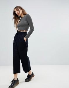 Юбка-брюки с широкими штанинами Monki - Черный