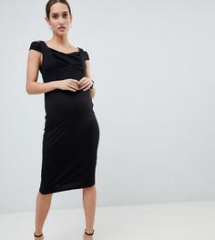Облегающее платье ASOS DESIGN Maternity - Розовый