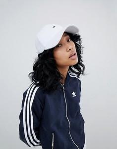Махровая кепка с металлическом логотипом adidas Originals - Синий