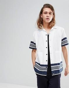 Белая рубашка Dickies Ocean City - Белый