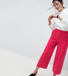 Ярко-розовые парусиновые брюки с широкими штанинами ASOS DESIGN - Розовый