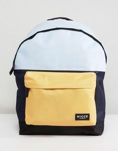 Рюкзак с синими вставками Nicce London - Синий