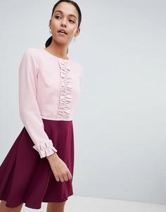 Платье с оборками Ted Baker Steyla - Мульти