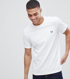 Белая футболка пике с круглым вырезом и логотипом Fred Perry - Белый