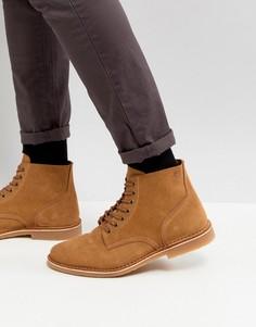Замшевые ботинки на шнуровке Jack & Jones - Бежевый