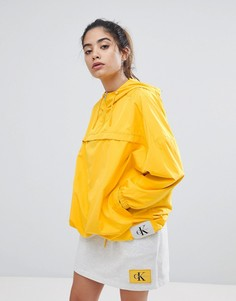 Ветровка Calvin Klein Jeans - Желтый