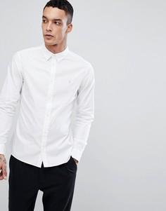Поплиновая рубашка с длинными рукавами AllSaints - Белый