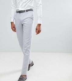 Серые зауженные брюки ASOS TALL Wedding - Серый