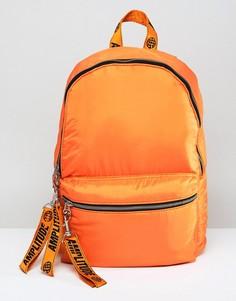 Оранжевый рюкзак с надписью Amplitude ASOS - Оранжевый