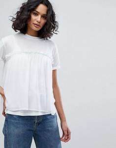 Повседневная футболка BOSS - Белый