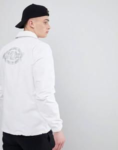 Камуфляжная спортивная куртка со светоотражающим принтом на спине Dickies Summerfield - Серый