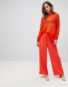 Широкие брюки Y.A.S - Красный
