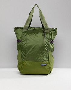 Зеленая складываемая сумка-тоут для путешествий Patagonia - Зеленый