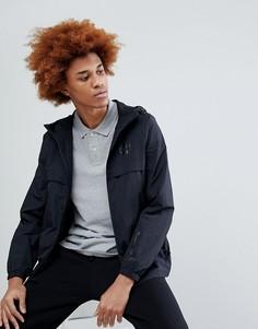Легкая черная куртка с капюшоном Timberland - Черный
