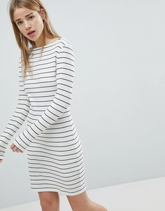 Облегающее платье в полоску JDY - Белый
