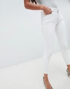 Белые джинсы с контрастной строчкой ASOS DESIGN Whitby - Белый