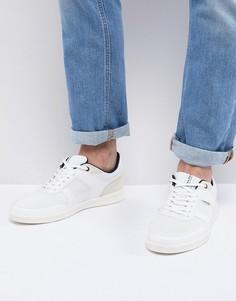 Кроссовки с перфорированными вставками Jack & Jones - Белый