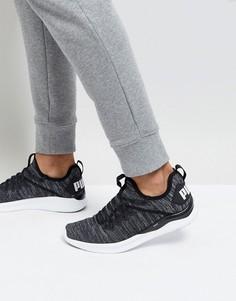 Черные кроссовки Puma Ignite Flash Evo Knit 19050802 - Черный