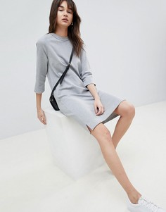 Трикотажное платье Selected - Серый