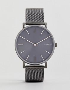 Часы Skagen SKW6445 Hagen - 38 мм - Серебряный