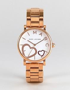 Золотисто-розовые классические часы Marc Jacobs MJ3589 - 36 мм - Золотой