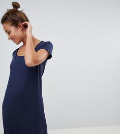 Платье для кормящих мам Mamalicious - Темно-синий Mama.Licious
