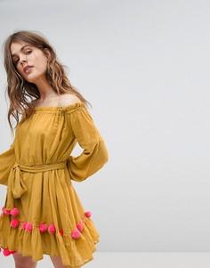 Платье Sundress - Желтый