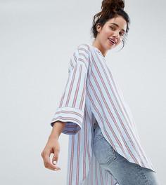 Блузка в полоску с карманом Monki - Мульти