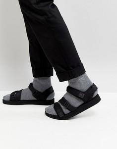 Черные сандалии с ремешками ASOS - Черный