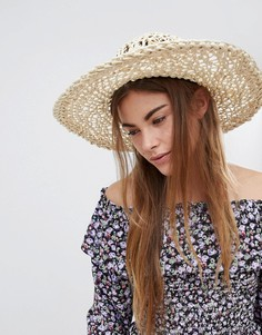 Соломенная шляпа Glamorous - Бежевый