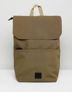 Бежевый рюкзак с нашивкой ASOS - Коричневый