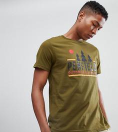 Эксклюзивная зеленая футболка с логотипом Penfield - Зеленый