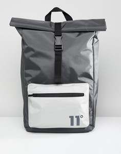 Серый рюкзак с отворотом 11 Degrees - Серый
