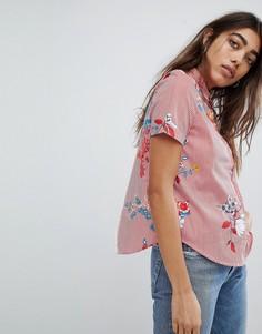 Рубашка с цветочным принтом Noisy May - Мульти