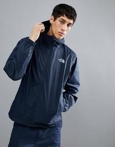 Темно-синяя непромокаемая куртка с капюшоном The North Face - Темно-синий