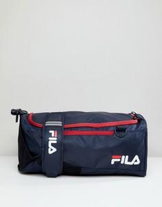 Темно-синий средний рюкзак Fila Hollis - Темно-синий