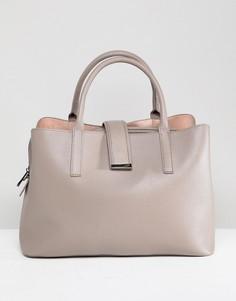 Мягкая сумка-тоут ASOS DESIGN - Серый