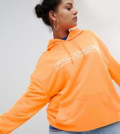Худи яркого оранжевого цвета Puma эксклюзивно для ASOS Plus - Оранжевый
