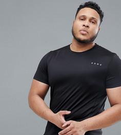 Черная футболка ASOS 4505 PLUS - Черный