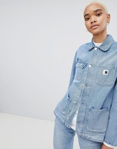 Джинсовая куртка Carhartt WIP - Синий