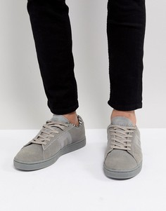 Замшевые кроссовки Blend Real - Серый