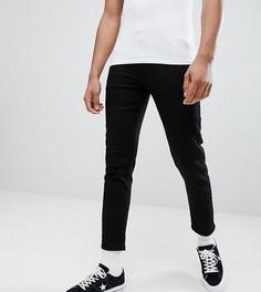 Черные укороченные супероблегающие джинсы ASOS DESIGN Tall - Черный