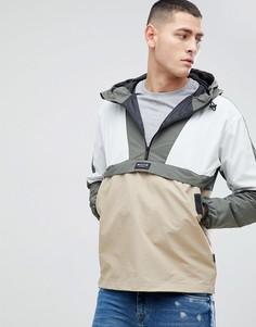 Куртка в стиле ретро без застежки Nicce London - Зеленый