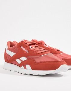 Красные классические нейлоновые кроссовки Reebok CN4251 - Красный