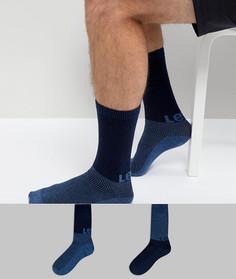 Набор из 2 пар носков с логотипом Levis - Темно-синий Levis®